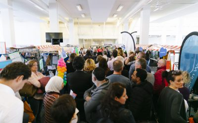 Veel belangstelling voor Participatiemarkt Haarlem