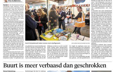 De Participatiemarkt in het Haarlems Dagblad