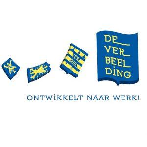 Logo De verbeelding Ontwikkelt naar werk participatiemarkt haarlem