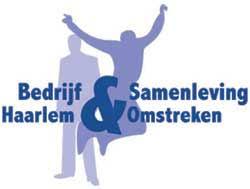 logo bedrijf en samenleving participatiemarkt haarlem