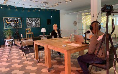 Aankondiging podcast interviews Participatiemarkt